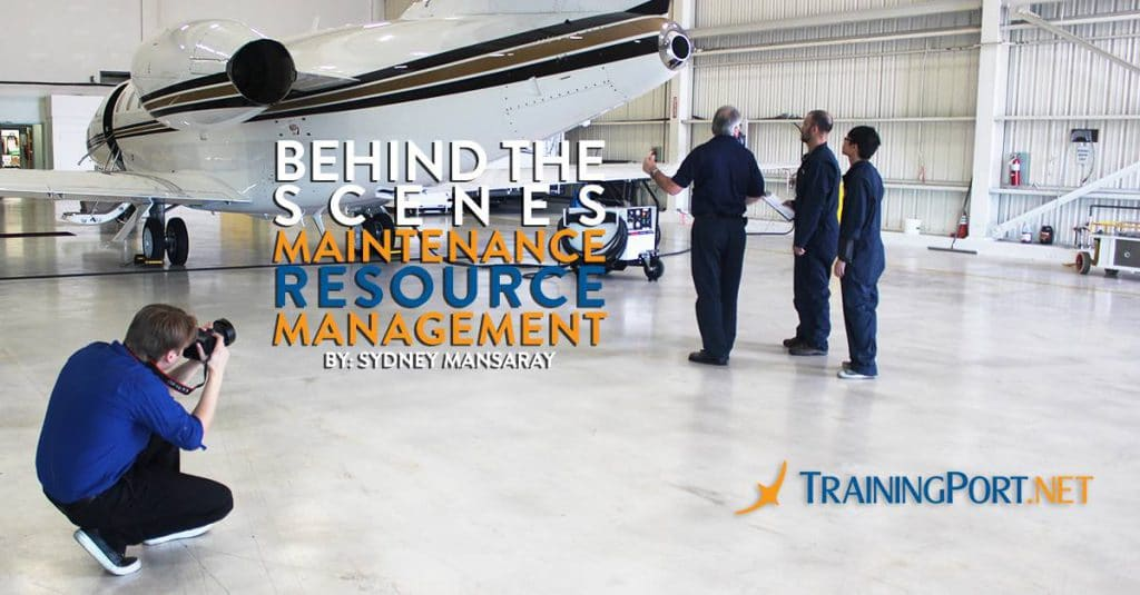 Maintenance Resource Management, Trainingport production process