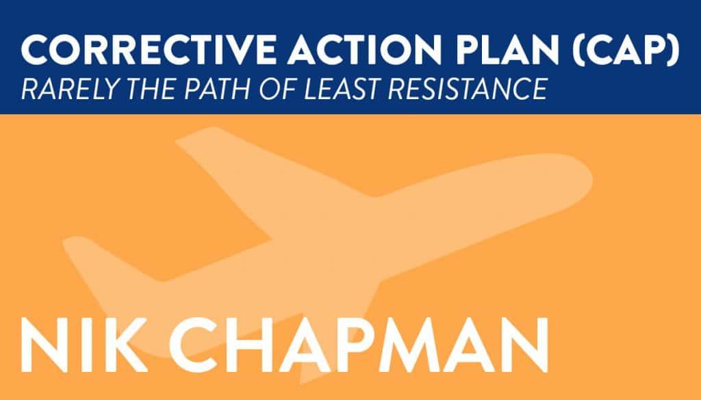 corrective action plan for biz aviation, CAP